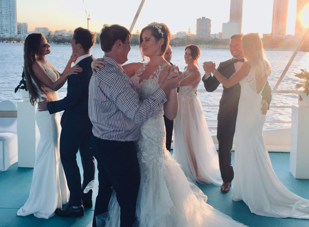 Gold Coast Cruises Deluxe wedding professional dj