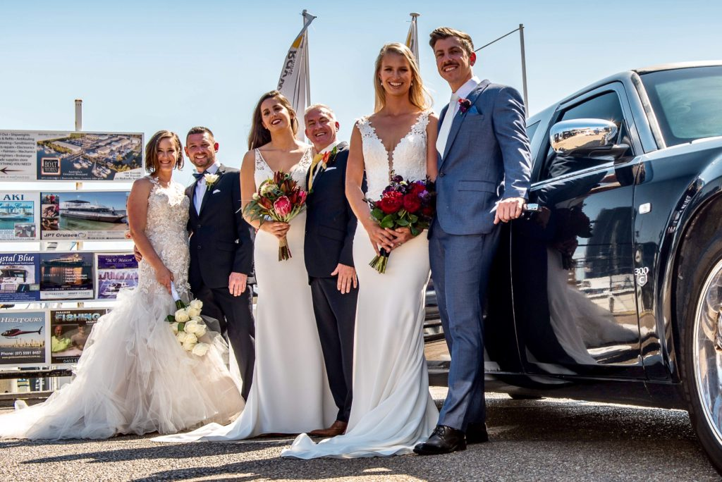 Gold Coast Cruises Deluxe Wedding limousine transfers
