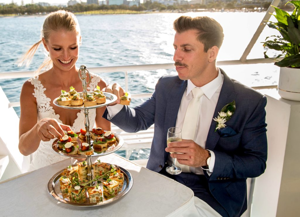 cocktail finger food pop-up wedding package gold coast