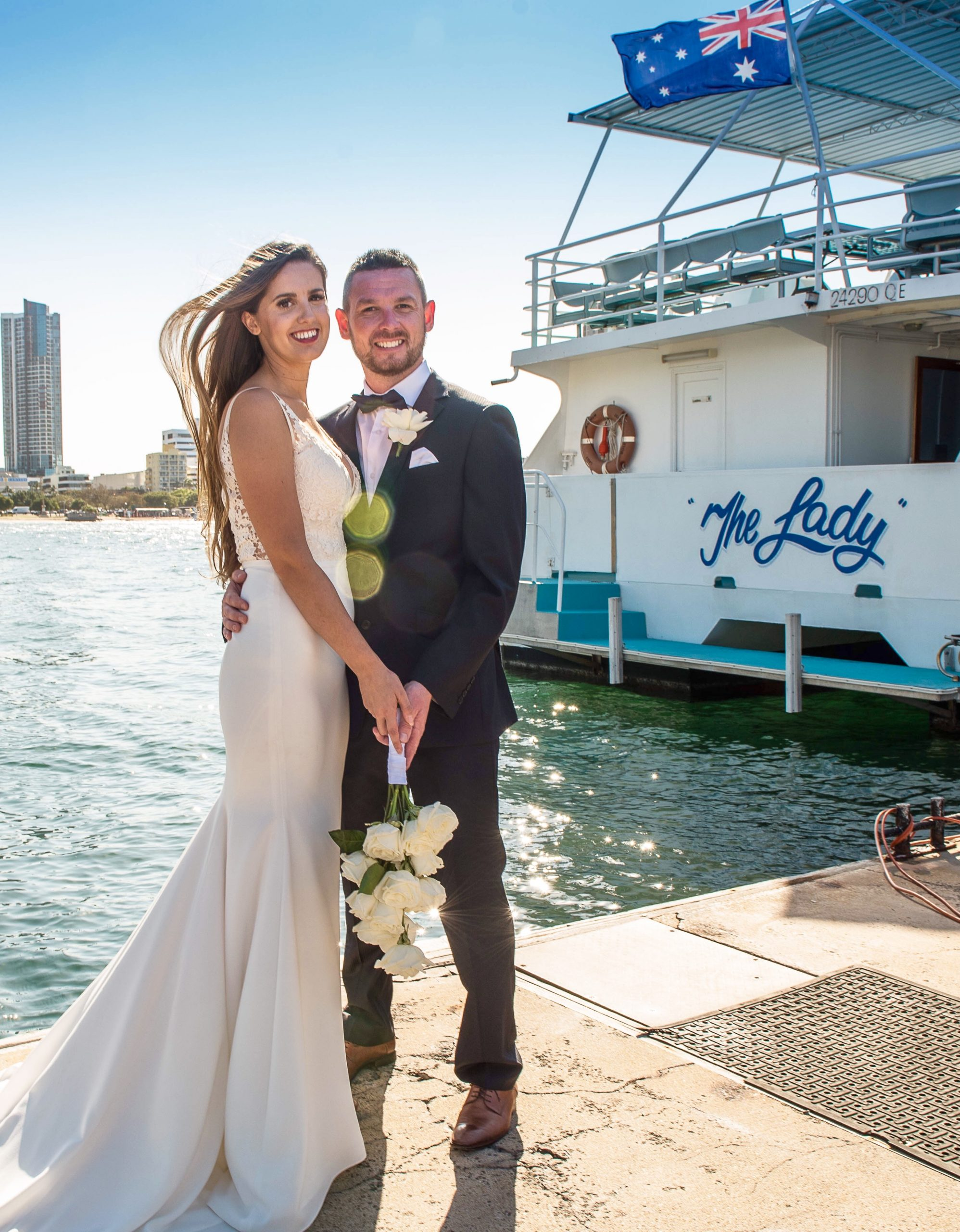 deluxe wedding cruise gold coast coast