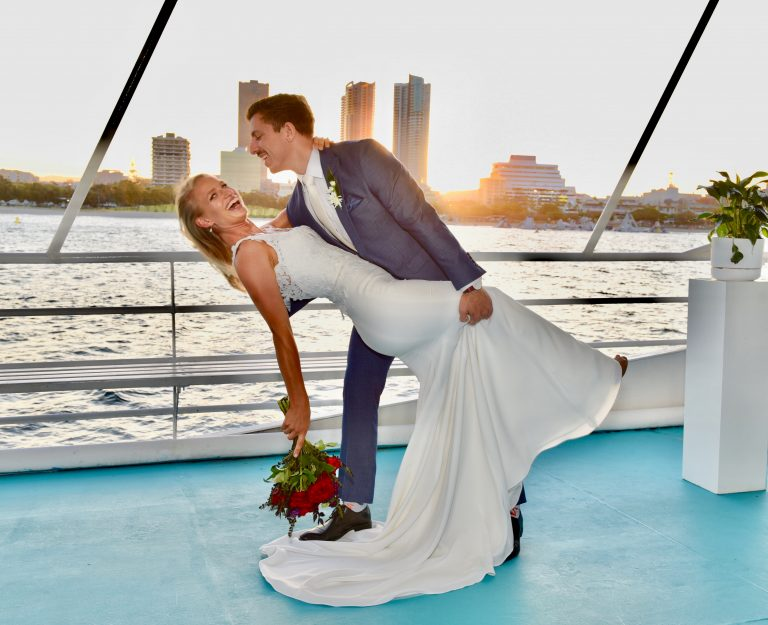 deluxe wedding cruises gold coast