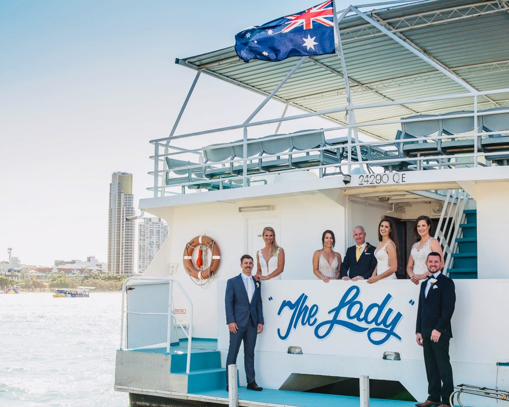 Gold Coast Cruises pop-up wedding package