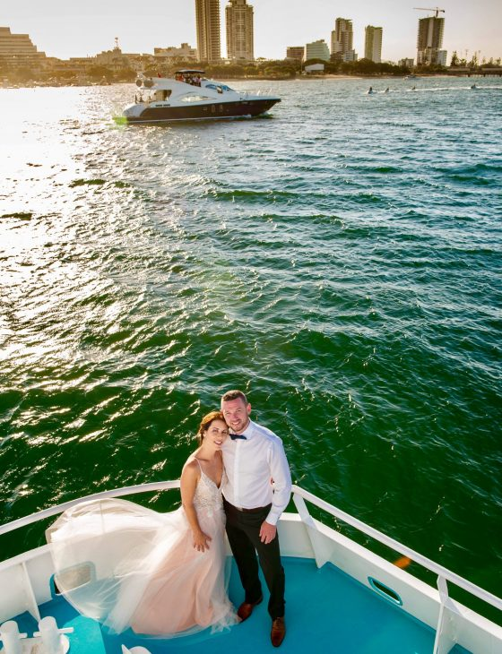 wedding cruises gold coast