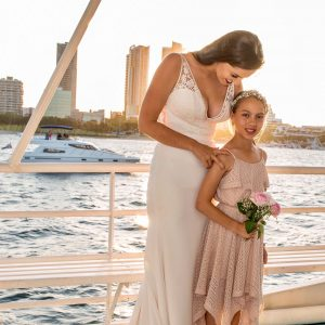 deluxe wedding cruise gold coast cruises the lady